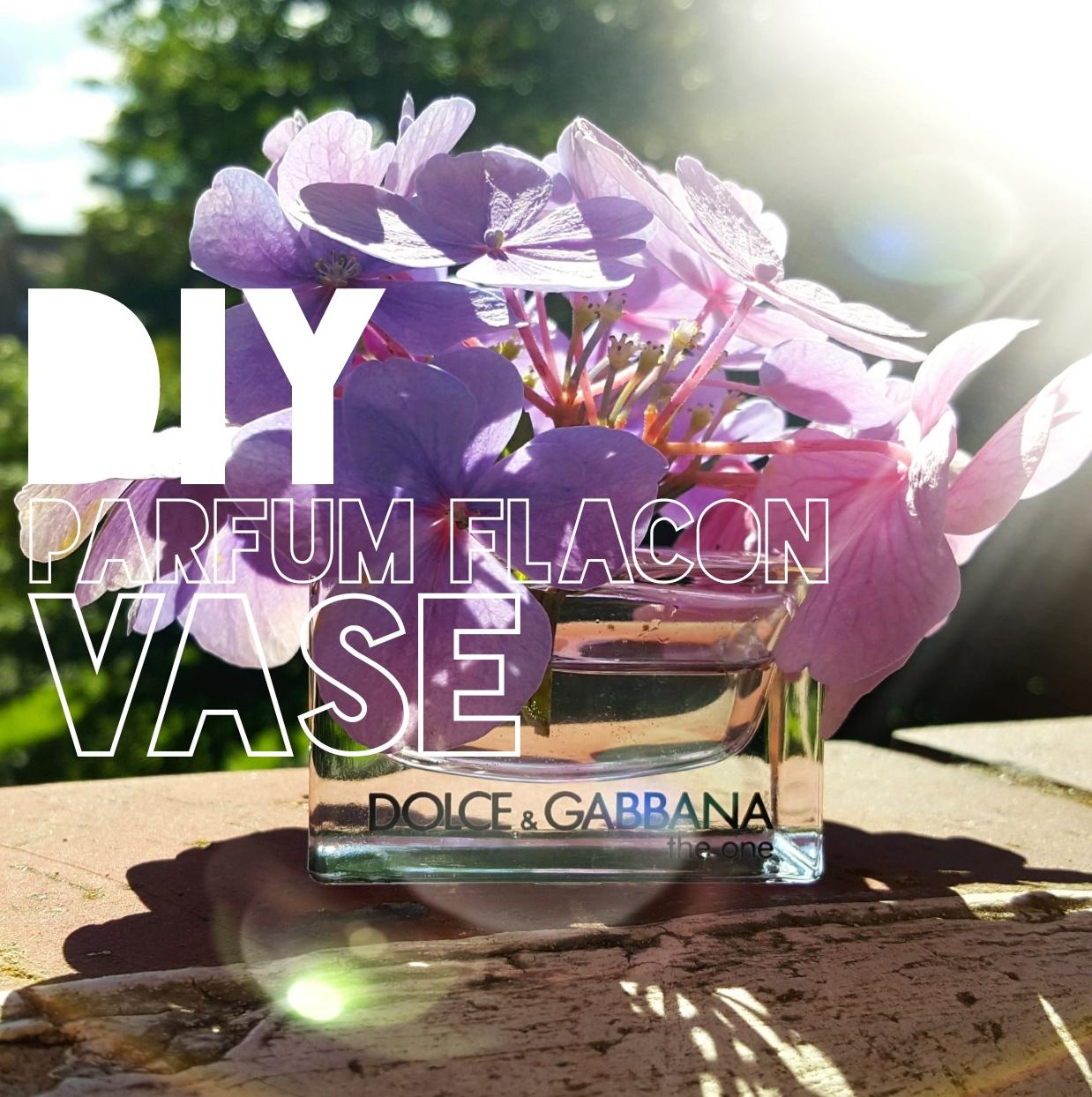 parfum flacon Vase selber machen
