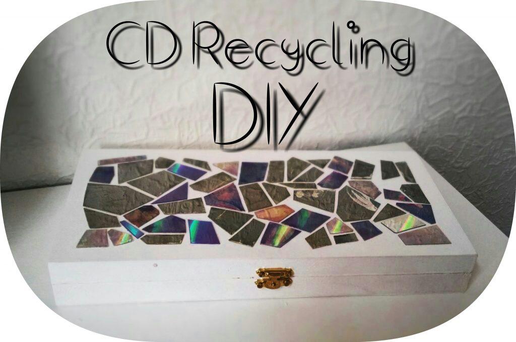 basteln mit alten cds diy so machst du aus alten cds etwas neues. Black Bedroom Furniture Sets. Home Design Ideas