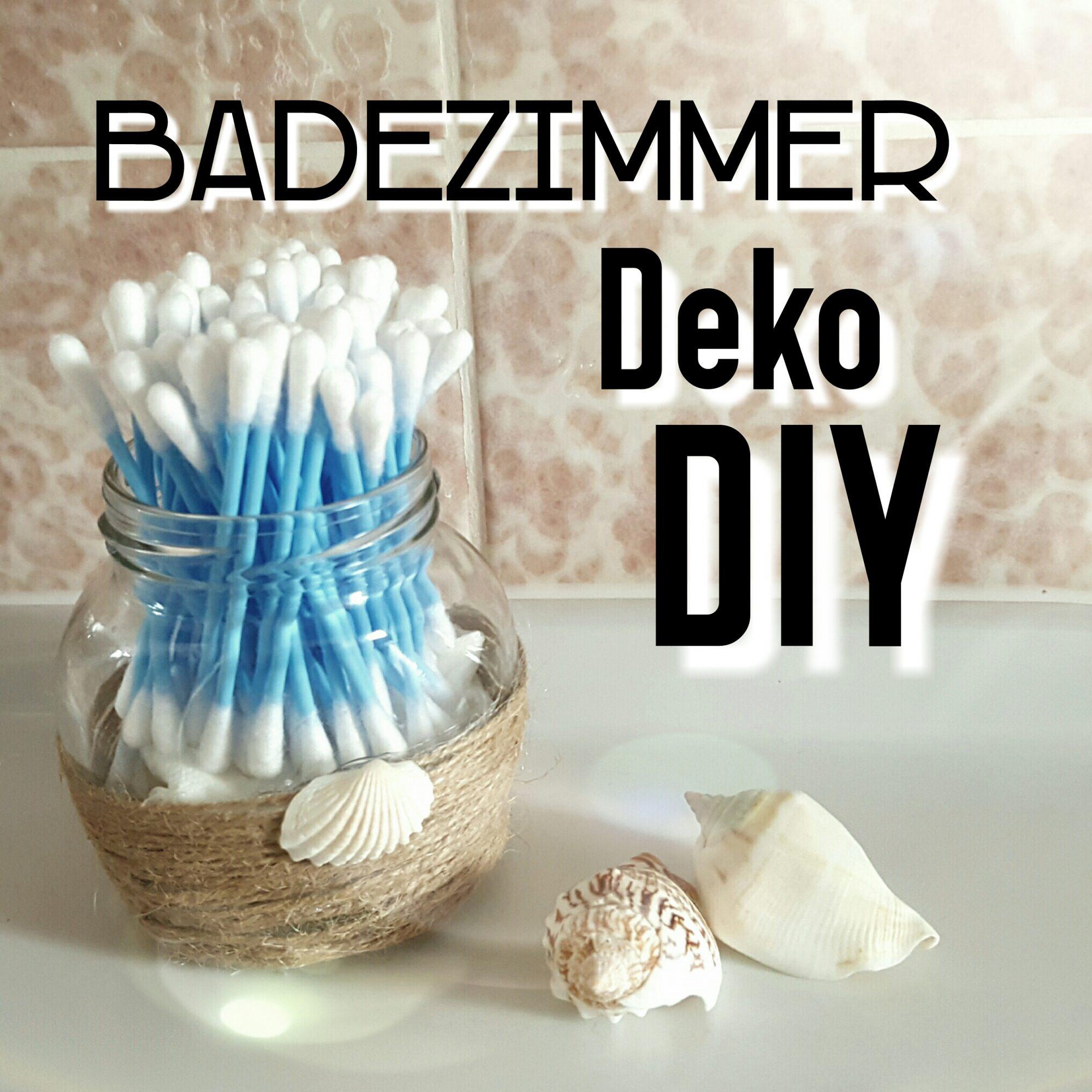 Badezimmer Deko DIY - \